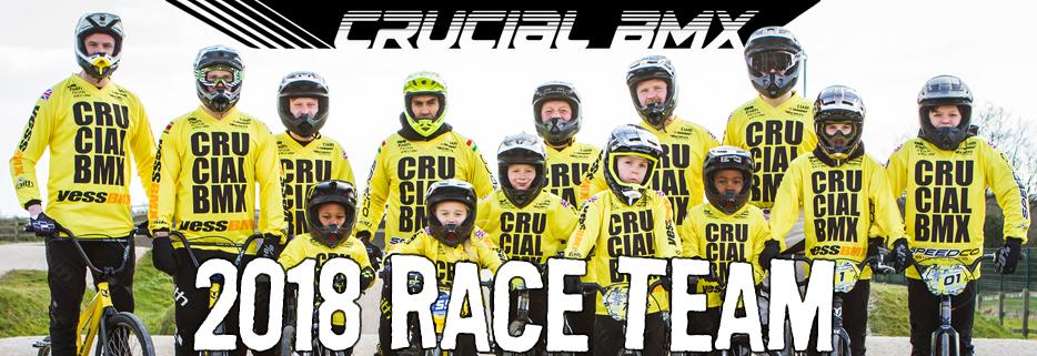 Crucial BMX 2018 Race Team