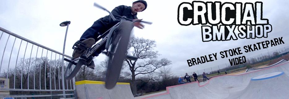 Crucial BMX at Bradley Stoke Skatepark
