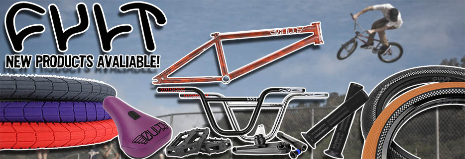 NEW CULT BMX STUFF!