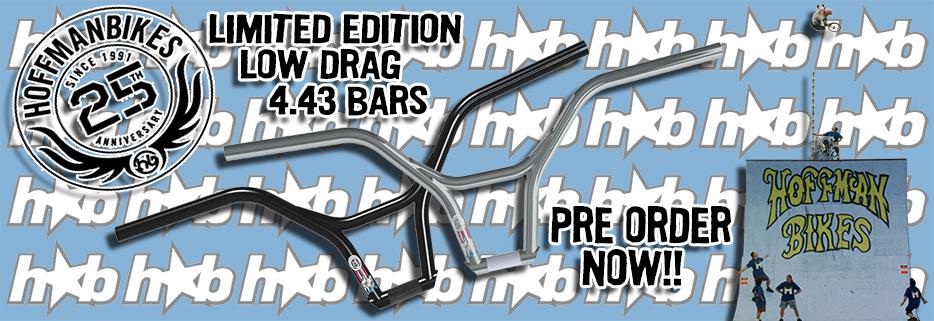 Hoffman Low Drag Bars: Pre Order Now!