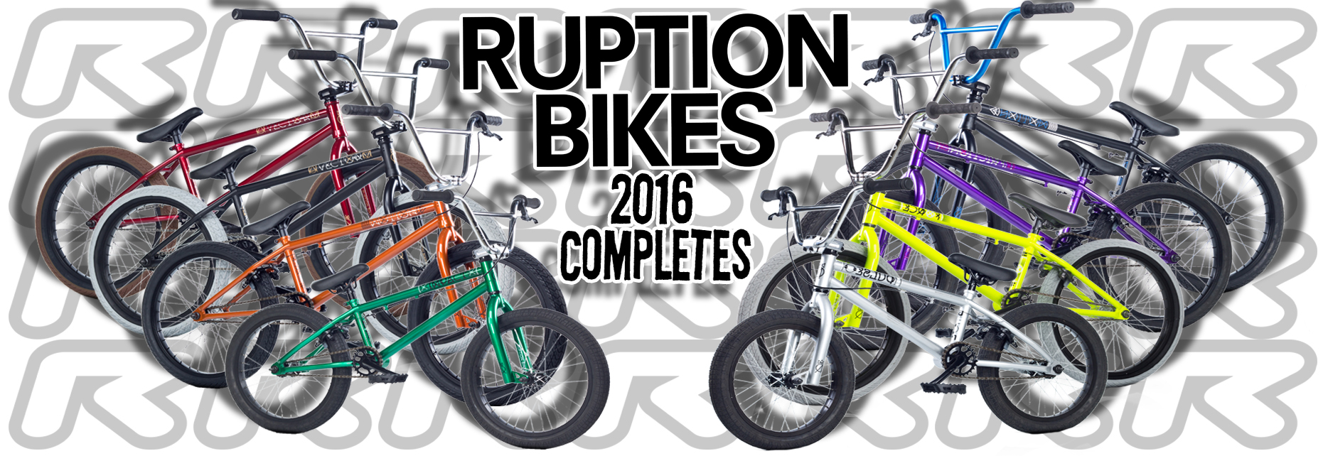 Ruption 2016 Complete Bike Range