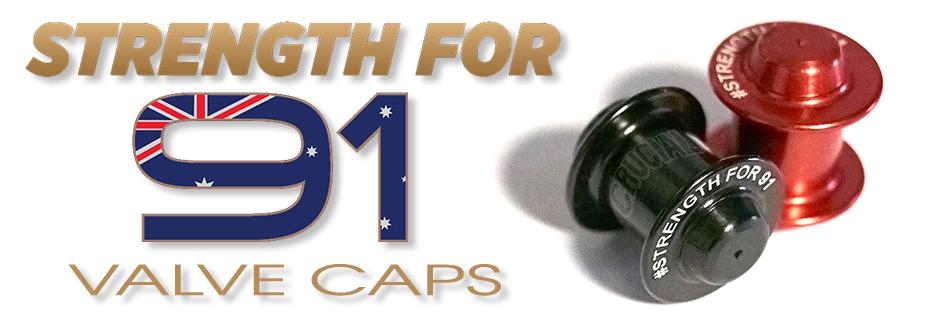 STRENGTH FOR 91 VALVE CAPS!