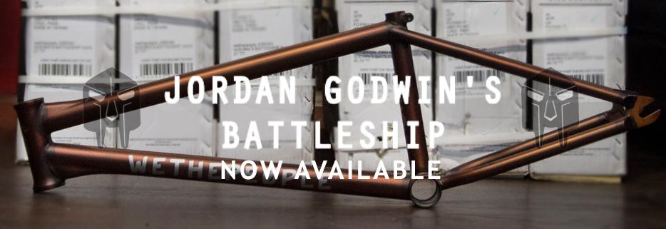 WETHEPEOPLE BATTLESHIP FRAME - JORDAN GODWIN SIGNATURE BMX
