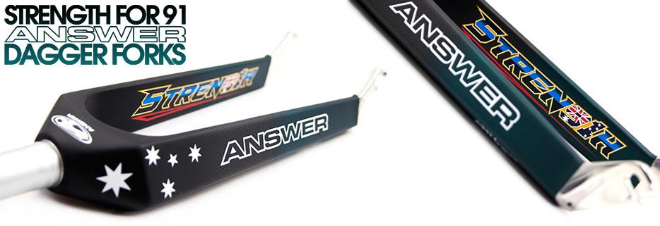 Strength for 91 Answer Dagger Forks